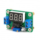 LM2596 Step-Down Voltage Regulator Module Board w/ Voltmeter - Green