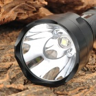 RUSTU C8 750lm 5-Mode White Bicycle Light w/ Cree XM-L2 T6 - Black
