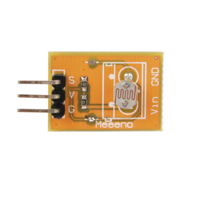 Meeeno MN-EB-PTCMN Photosensitive Sensor Module - Orange
