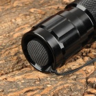Brinyte D38 395nm 3W LED UV Flashlight w/ Strap - Black (1 x 18650 / 2 x 16340)