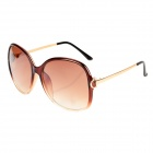 SENLAN 8105 Retro Fashion UV400 Protection Lady's Sunglasses - Tawny