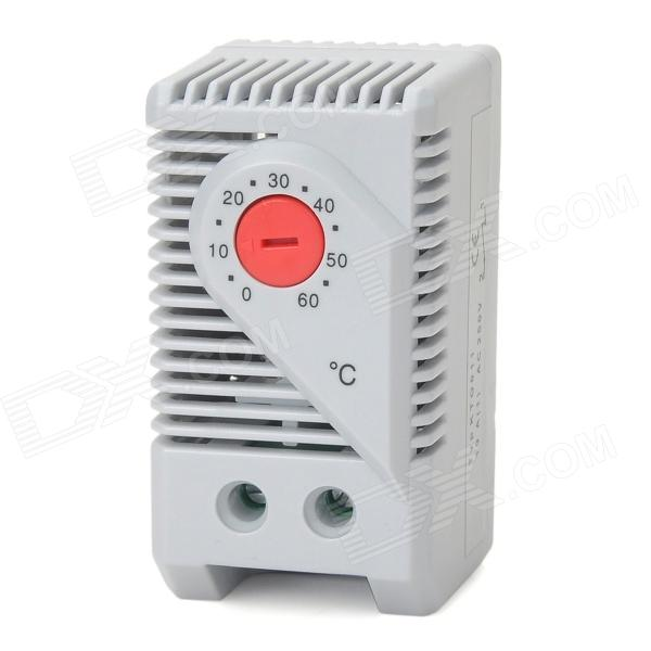 420026G Mechanical Temperature Controller Switch - Grey White (0'C~60'C) new original authentic besful temperature difference controller bf 15b temperature controller thermostat