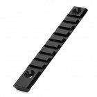 D006 Aluminum Alloy 22mm Gun Rail Mount for M4A1 / M16 - Black