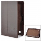 Protective PU Leather Case for Acer W700 - Dark Brown