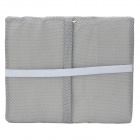 GD399 Sandwich Cloth + Activated Bamboo Charcoal Healthy & Comfortable Waist Cushion - Grey