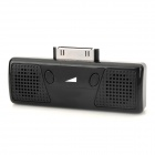 AS05M-IPO Mini Portable 30-Pin Speaker for iPhone 4 / 4S / iPod - Black