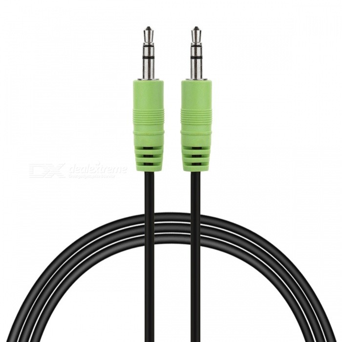 Edifier AUC-121 de 3,5 mm a cable de audio macho - verde + Plata + Negro (162CM)
