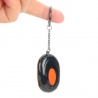 Bluetooth Wireless Anti-theft Alarm Keychain for Iphone4S / 5 Ipad 3 / 4 + More - Black + Orange