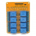 Meeeno MN-MD-R0805 8-Channel 5V Relay Module Expansion Board - Orange + Blue