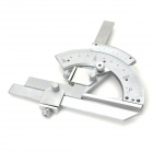 Universal 0~320 Degree Bevel Protractor Angular Dial Vernier Caliper - Silver