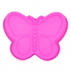 Butterfly Style Silicone Cake / Bread / Handmade Soap Mould - Deep Pink