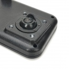 "806 2.4"" TFT HD 720P Wide Angle Rearview Camera Lens Car Video Recorder w/ AV-Out / Mini USB - Black"