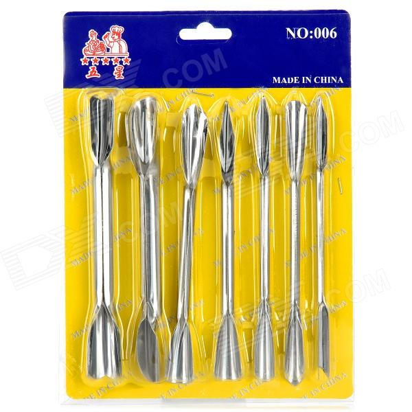 buy online wuxing 006 stainless steel cake decorating tools silver