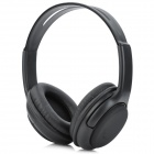 5800 Wireless Bluetooth v3.0 + EDR Headset Headphones w/ MP3 + FM Radio + Microphone - Black