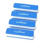 Carsun CS-207 Universal Protective EVA Car Door Guard - Blue + White (4 PCS)