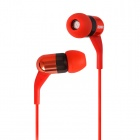 SOMiC MH407 In-ear Balanced Armature Earphone for Iphone / Ipad / Ipod / MP3 - Red