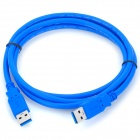 USB 3.0 macho a macho Cable de datos - Blue (150cm)
