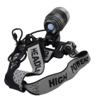 SingFire SF-90 800lm 4-Mode Cold White Bicycle Lamp w/ CREE XML-T6 - Black + Silver (4 x 18650)