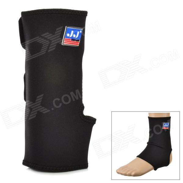 764 Protective Sports Elastic Ankle Support Brace Wrap - Black shuoxin sx662 sports basketball elastic ankle foot brace support wrap black