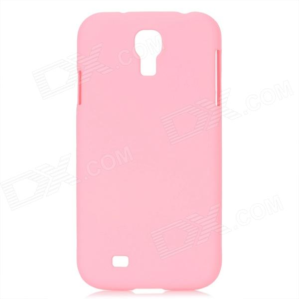 Ultrathin Protective PC Back Case for Samsung Galaxy S4 i9500 - Pink dynamic 3d skull pattern protective back case for samsung galaxy s4 i9500 black