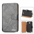 GOWE Protective PU Leather Case for Samsung Galaxy Note i9220 - Black