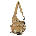 Tactical Multifunction Outdoor Single Shoulder Bag - CP Camouflage