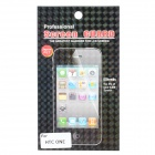 Protective Clear PET Screen Guard Film w/ Cleaning Cloth for HTC One - Transparent (3 PCS)
