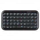 Mini 49-Key Bluetooth V3.0 + HS Keyboard for iPhone + iPad - Black