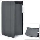 ENKAY ENK-7101 Protective PU Leather Case for Google Nexus 7 - Black