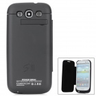 External 3200mAh Emergency Power Battery Charger Full Body Case for Samsung Galaxy S3 i9300 - Black
