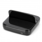 Charging Dock Station w/ Micro USB Cable for Samsung Galaxy S4 / i9500 - Black