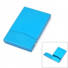Aluminum Alloy Name Card / Cigarette Case - Blue