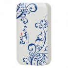 Blue and White Porcelain Design External 4000mAh Power Battery Charger for Cell Phone - Blue + White