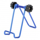 Folding Mini Aluminum Alloy Desktop Holder for iPad Mini / iPhone + More Phone - Blue