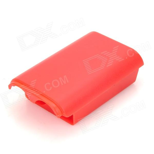 Replacement Plastic Battery Case for Xbox 360 Wireless Controller - Red