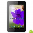 "MT8377 7"" Capacitive Screen Android 4.1 Dual Core Tablet PC w/ SIM / TF / Wi-Fi / Camera - Black"