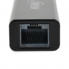 HAME A15 Mini 150Mbps 3G / Wired Network to Wi-Fi Repeater Router - Black