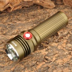 RUSTU RW11 Cree XM-L T6 430lm 5-Mode White Flashlight - Dark Green (1 x 26650 / 18650)