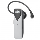 Ais A1 Universal Rechargeable Wireless Bluetooth V3.0 Stereo Earbud Earphone - Silver + Black