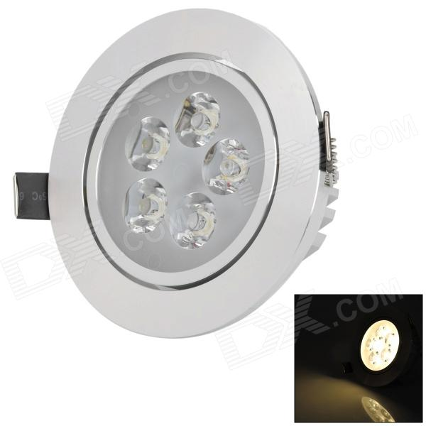HIWIN HSD591 5W 380lm 2700~3500K 5-LED Warm White Ceiling Lamp (AC 85~265V)