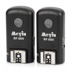Meyin RF-604 Wireless Grouping TTL Flash Trigger Set for Cannon 5D3 / 5D2 / 60D / 650D / 7D - Black