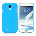 Protective Ultra-Slim PC Back Case for Samsung i9500 / S4 - Sky Blue