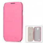 KALAIDENG Protective PU Leather Case for Samsung Galaxy S4 i9500 - Deep Pink