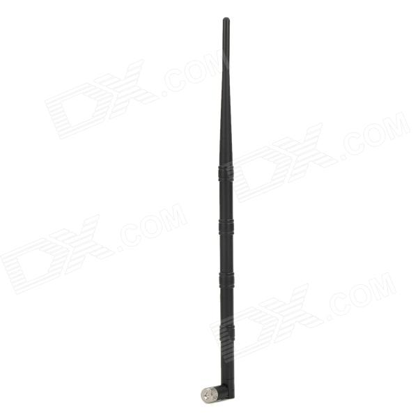 2.4G RP-SMA Four-Section 9dBi Antenna - Black