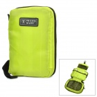 Nylon Travel Camping Toilet Articles Wash Bag - Green