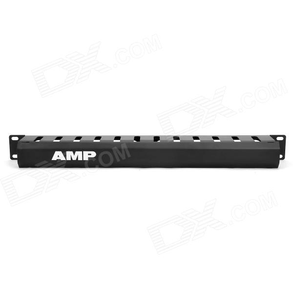 AMP Network Cable Management Rack - Black
