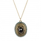 Precious Box Style Sweater Chain / Necklace - Bronze