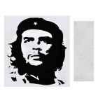 Aomei Che Guevara Pattern Home Wall Decoration PVC Paper Sticker - Black (40 x 35cm)