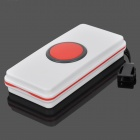 3055J Wireless DC Calling Security Alarm w/ LED / Speaker - White + Red