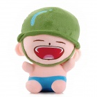 07 Funny Artillery Plush Toy - Green + Pink + Blue